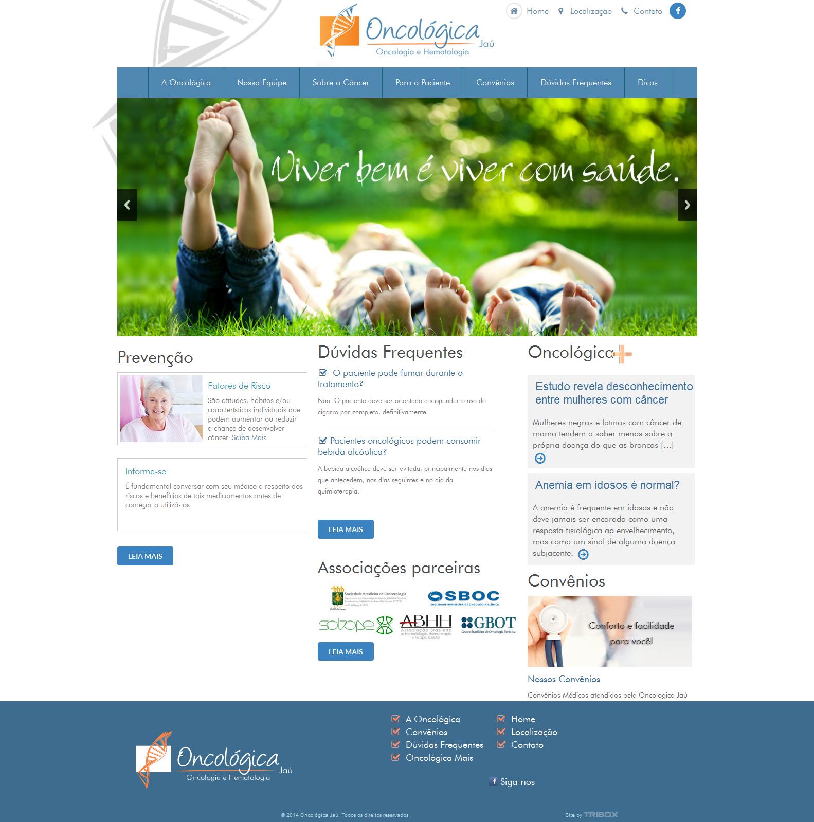 f1bb9d9a6 Oncologica-1 - Tribox | Criação Desenvolvimento sites e plataforma vendas  online em Jaú